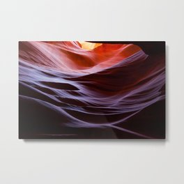 Slot Canyon Abstraction Metal Print