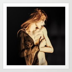 Vampire Awaking Art Print