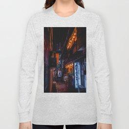 Tokyo alleyway Long Sleeve T-shirt