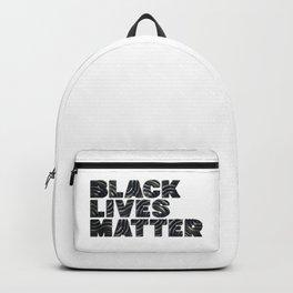 BLACK LIVES MATTER - Typo 3D Backpack