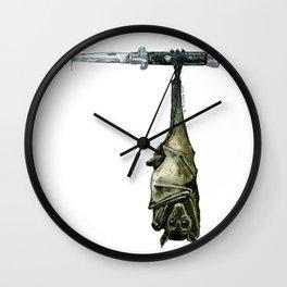 Street Bat Wall Clock