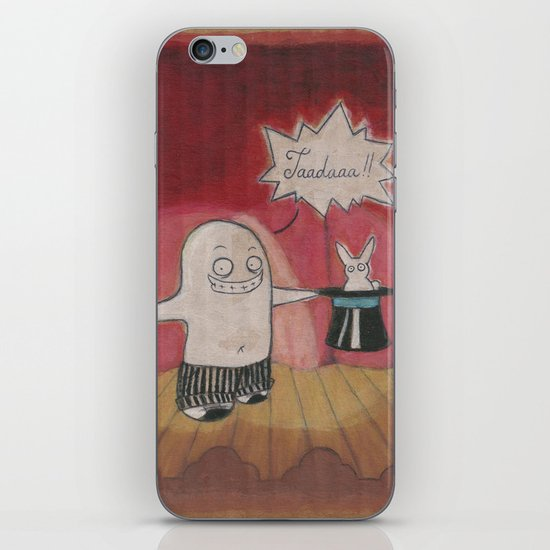 Make Believe Magician iPhone & iPod Skin
