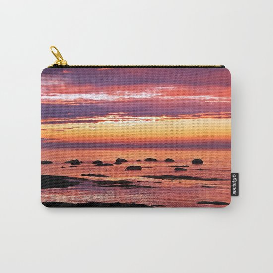 Sainte-Anne-Des-Monts Signature Sunset Carry-All Pouch