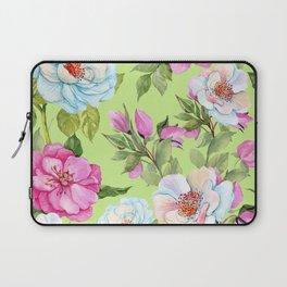 Vintage Floral Pattern No. 2 Laptop Sleeve
