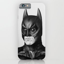 The Bat Drawing iPhone Case
