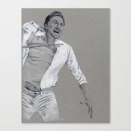 Tom Hiddleston: Battle Cry Canvas Print