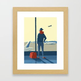 Airport Framed Art Print