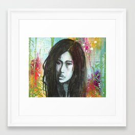 lost in the jungle Framed Art Print
