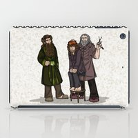 nori iPad Cases featuring Hair Care by wolfanita