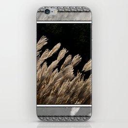 YAKU JIMA GRASS IN BACKLIT SUN iPhone Skin