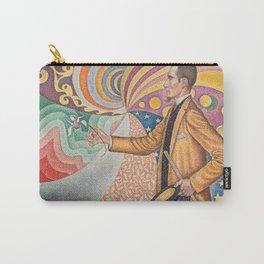 Paul Signac - Pointillist Portrait of Félix Fénéon Carry-All Pouch