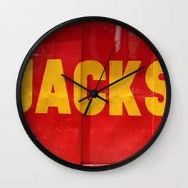 My favorite Artist Jackson Wall Clock