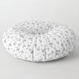 Papercraft Floor Pillow