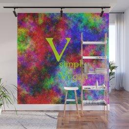 ganz einfach Vegan (A7 B0150) Wall Mural