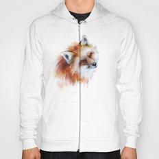 fox in love Hoody