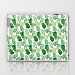 Summer Leaves - White Background Laptop & iPad Skin