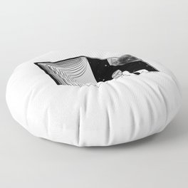 Reading is Dreaming with Your Eyes Open Floor Pillow