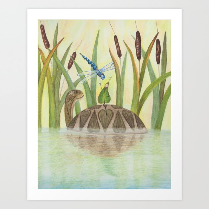 Seeds and Wings Art Print