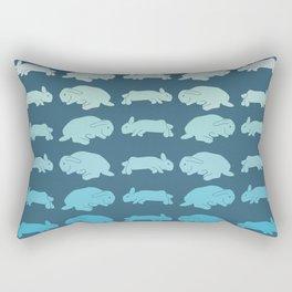ocean bunnies Rectangular Pillow