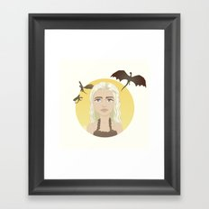 Where are my dragons? Framed Art Print