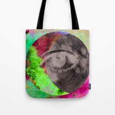 I'll be looking at the moon... and I'll be seeing you Tote Bag
