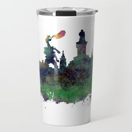 Cracow skyline Travel Mug