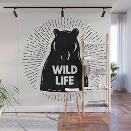 Wild Life Wall Mural