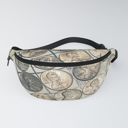 Vintage Bingo Board Game Fanny Pack