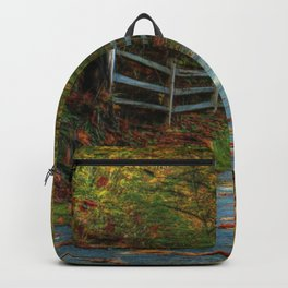 Fenced Autumn Backpack