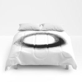 The Black O Comforters
