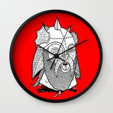 Warrior's Decapitated Head Wall Clock