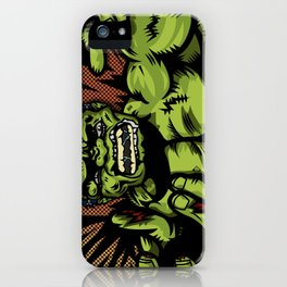 Hulkenstein SMASH! iPhone Case