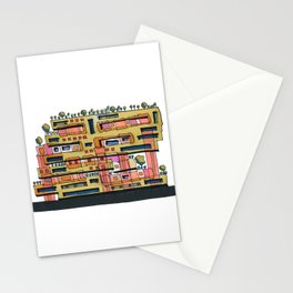 Urban Nature Building Architectural Illustration 62 Stationery Cards