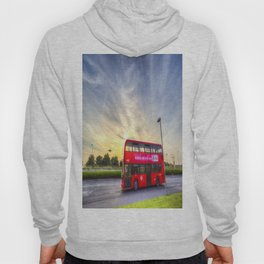 London Bus Sunset Hoody