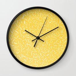 hypnotic smiles Wall Clock