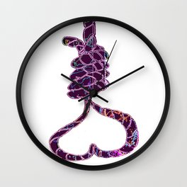 Toxic Love Hurts Wall Clock