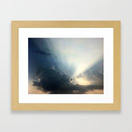 Jesus....Are You There? Framed Art Print