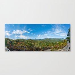 Great Smoky Mountains - Cataloochee Overlook Canvas Print