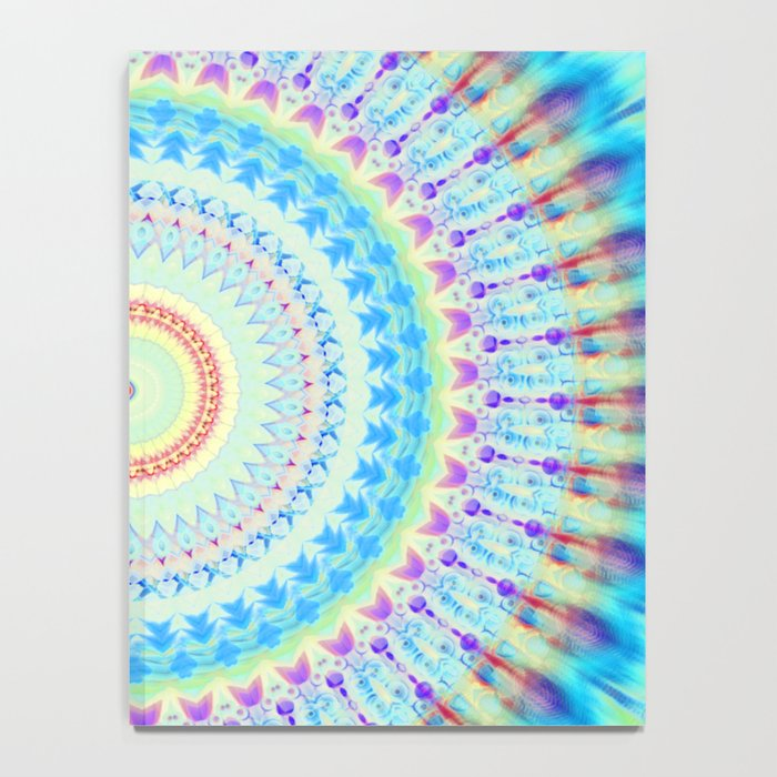 mandala waves Notebook