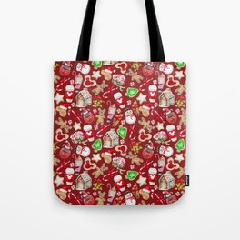 Christmas Snack Goals Tote Bag