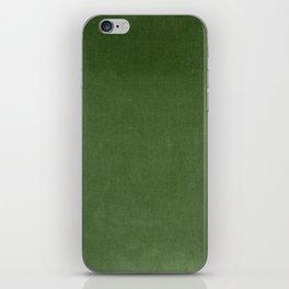 Sage Green Velvet texture iPhone Skin