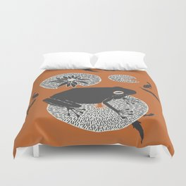 Frog on a Lily Pad Duvet Cover