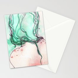 girl II Stationery Cards