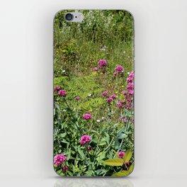Nature gardens iPhone Skin
