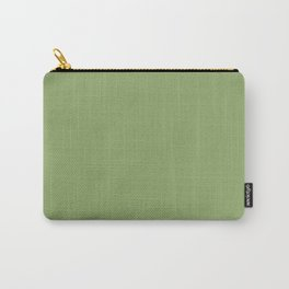 Monotone light olive. Carry-All Pouch