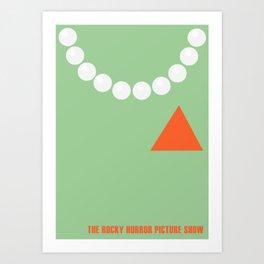 Dr Frank-N-Furter  Art Print