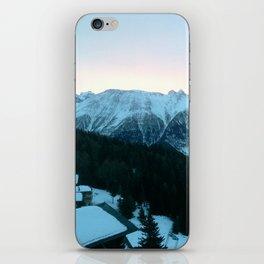 Bettmeralp Sunrise iPhone Skin