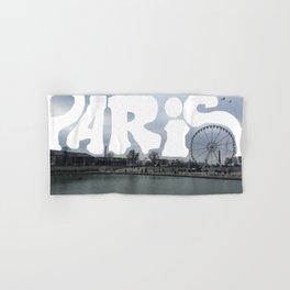 Paris Panorama Hand & Bath Towel