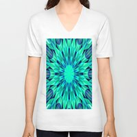teal V-neck T-shirts featuring Teal. by 2sweet4words Designs