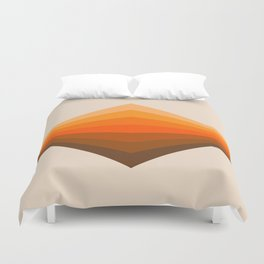 Golden Corner Duvet Cover